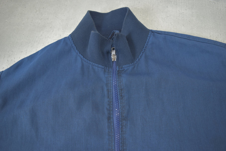 vintage / Blue Work Blouson Jacket