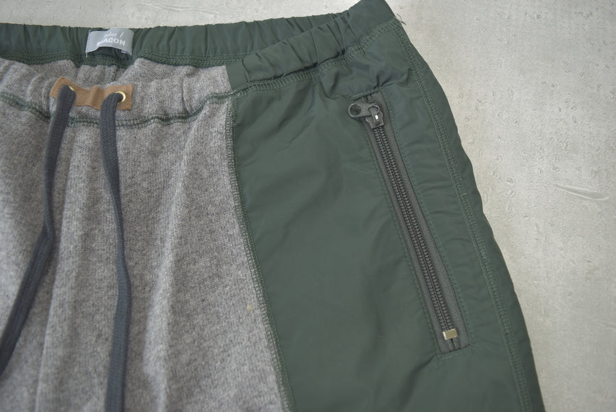 kolor / BEACON Hybrid Nylon Sweat Pants
