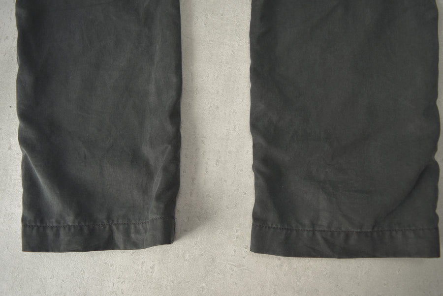 OUTER KNOWN / Black Cropped Easy Pants