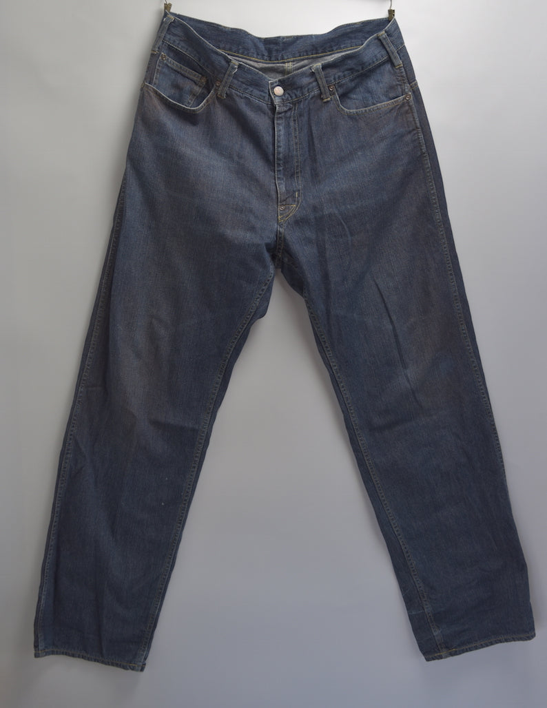 cavempt / Indigo Baggy Denim Pants