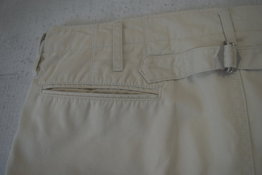 visvim / Beigh Cropped Chino Pants