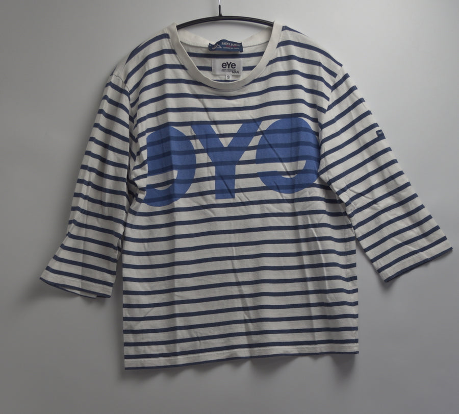JUNYA WATANABE MAN COMME des GARCONS / eYe print border T-shirt