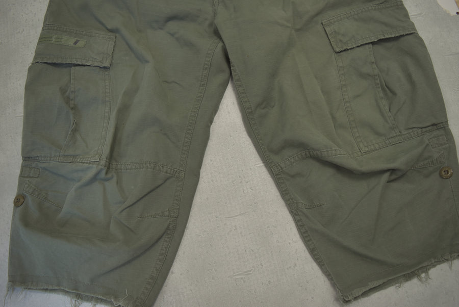WTAPS / Jungle chopped cropped pants