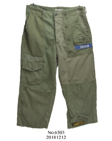 Needles / Rebuild Military Pants