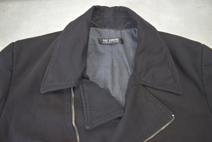 RAF SIMONS / Riders Cotton Pea Coat Jacket