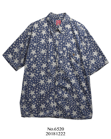 BAPE / Blue Star Shirt