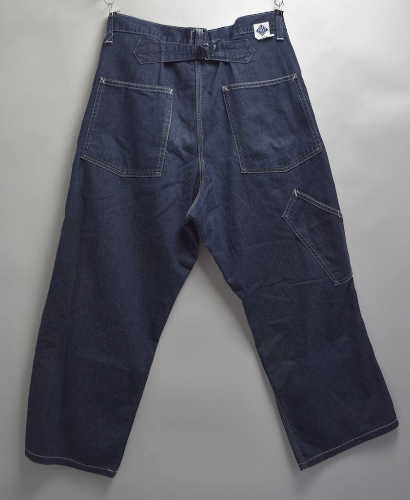 Post overalls / Denim painter pants