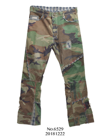 Porter Classic / Military Camo Remake Pants
