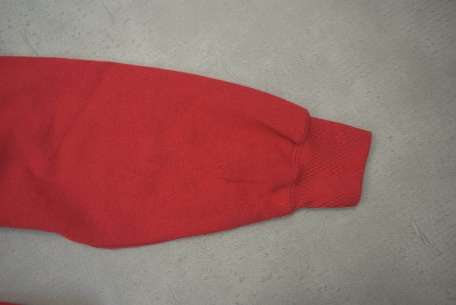 vintage / Red Plain sweat parka