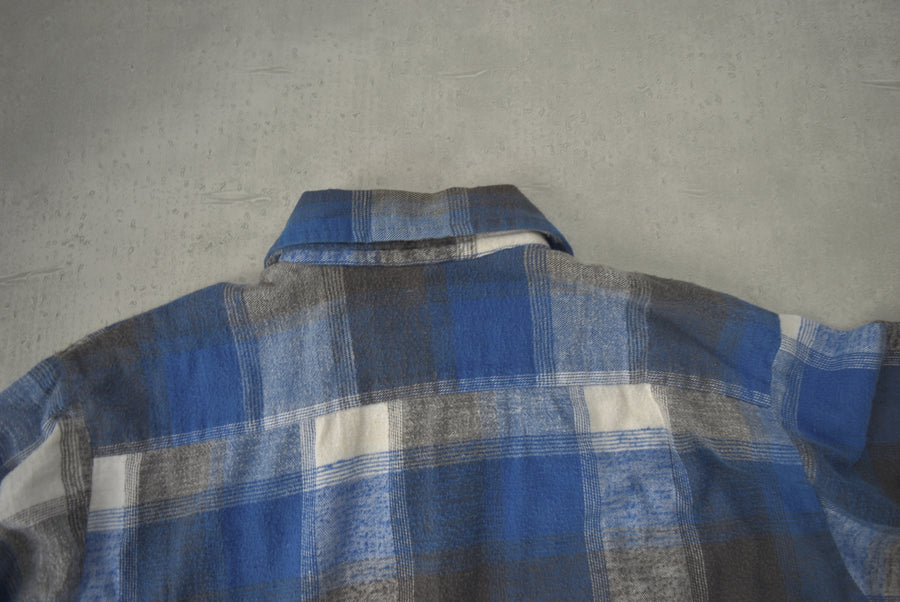 vintage / 70s Cotton Neck Shirt