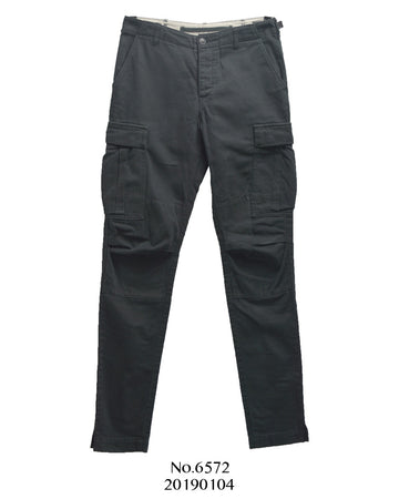 HYKE / green / Black Military Cargo Pants