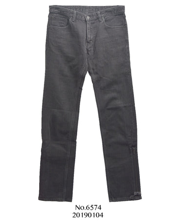 NUMBER(N)INE / Bondage skinny denim pants