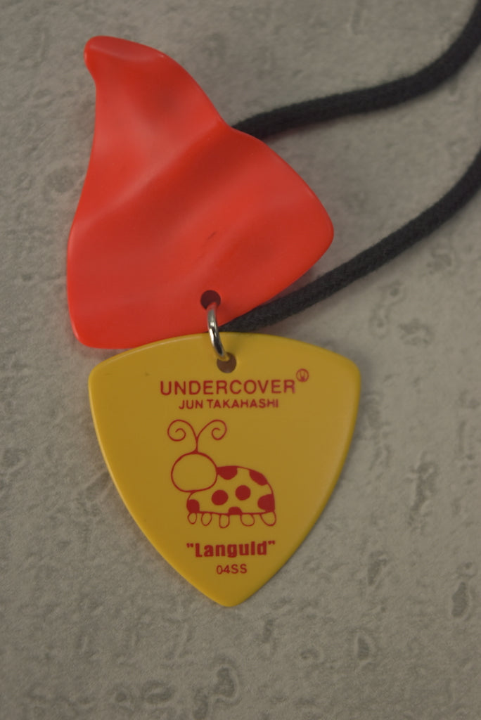 UNDERCOVER / [Languid]Guitar Pick Necklace