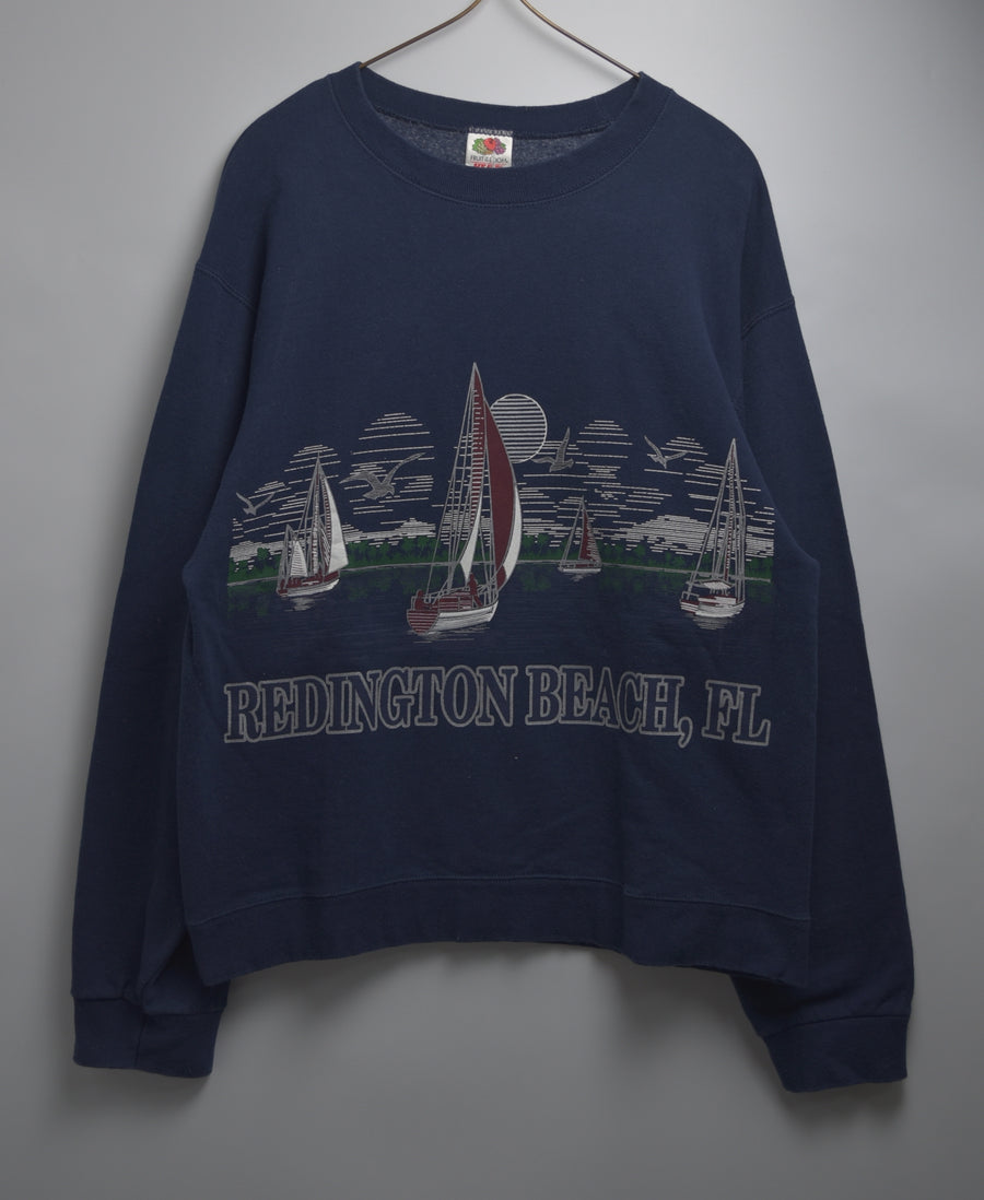 vintage / Vintage print sweat shirt