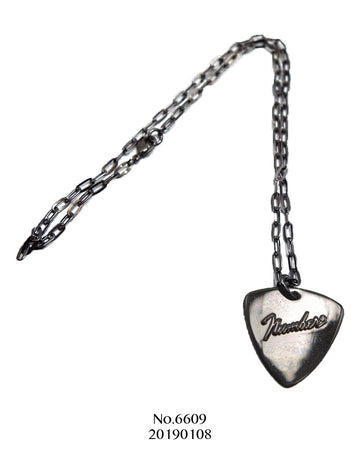 NUMBER(N)INE / Fender Logo Silver Necklace