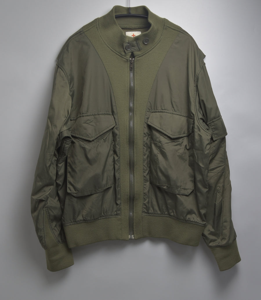 Head Porter Plus / Hybrid Military Blouson Jacket