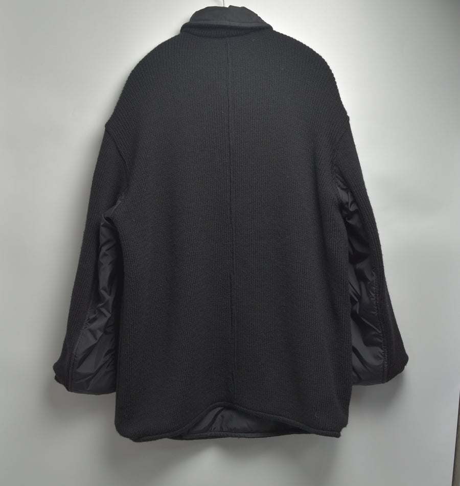 NEIGHBORHOOD / Reversible Wool/Nylon Mackinaw Coat