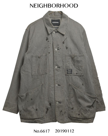 NEIGHBORHOOD / Hickory Painted Coverall Jacket
