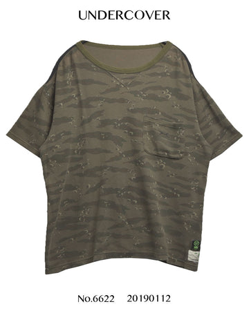 UNDERCOVER / Camouflage Mesh T-shirt