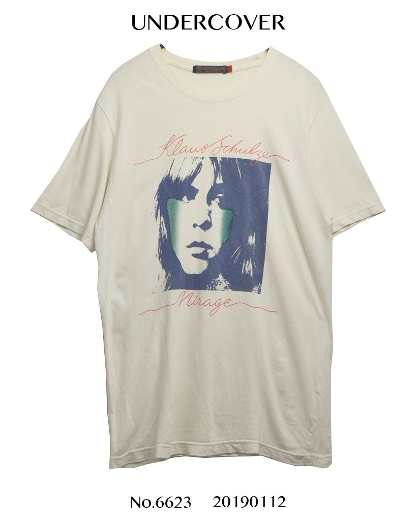 UNDERCOVER / Klaus Schulzband Band T-shirt