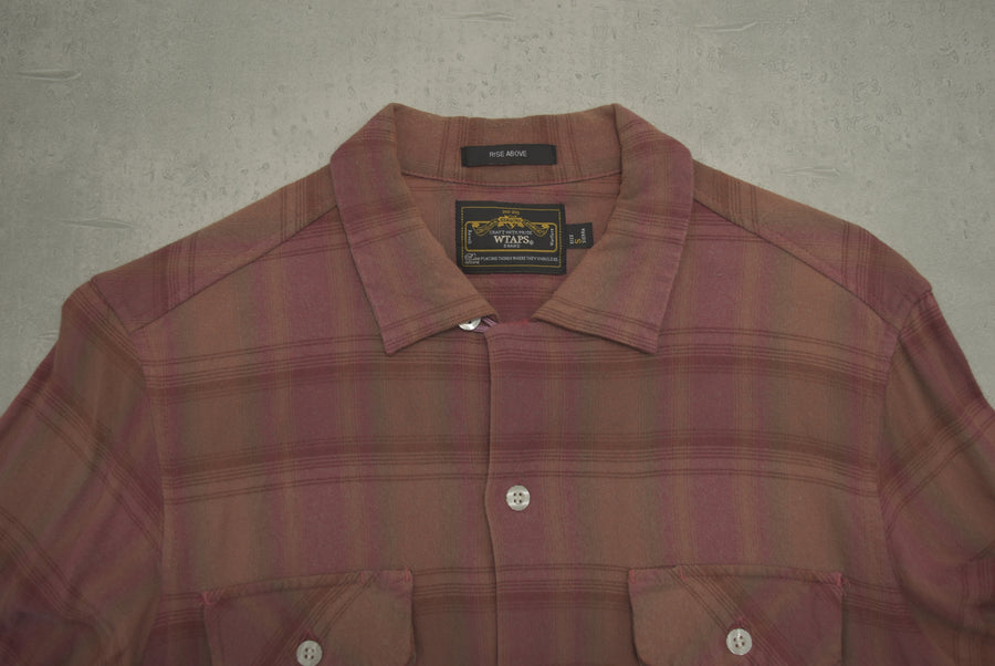 WTAPS / VATOS Check Rayon Shirt