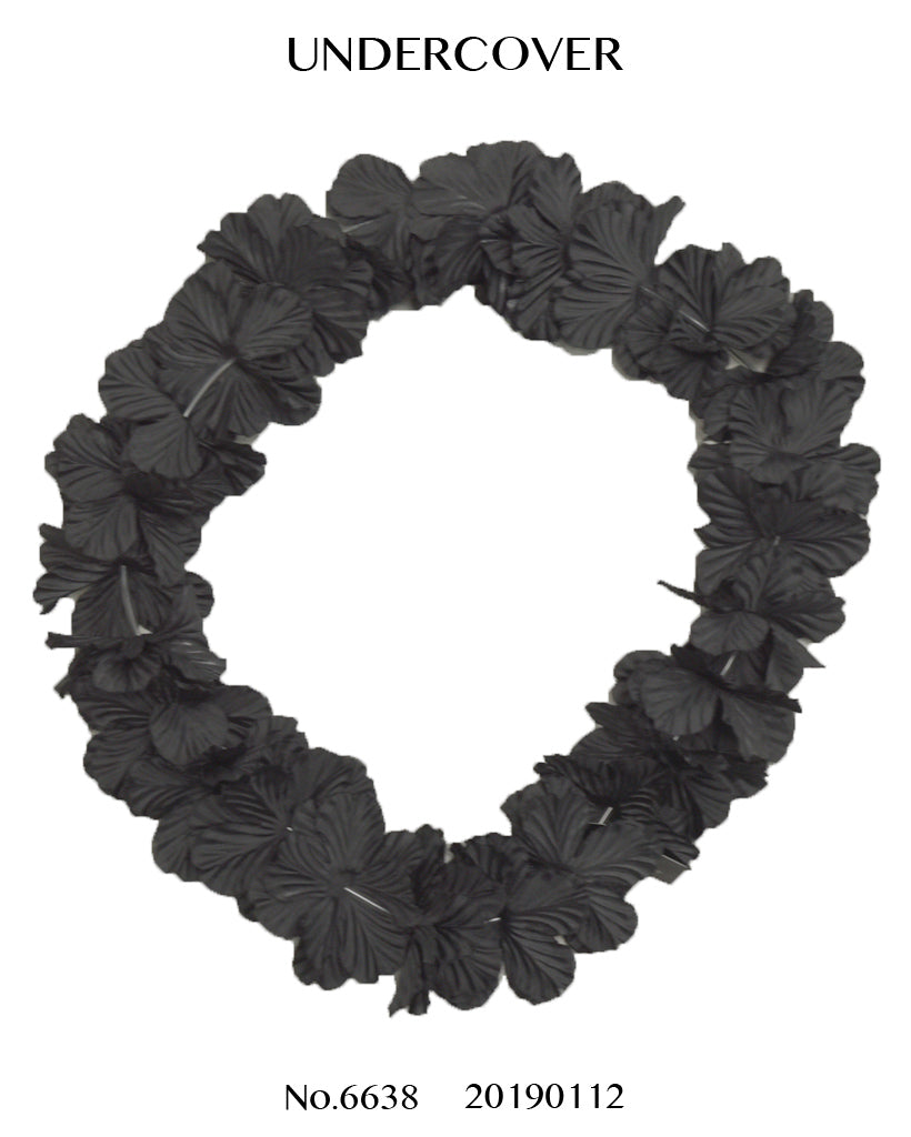 UNDERCOVER / Black Hawaiian Leis