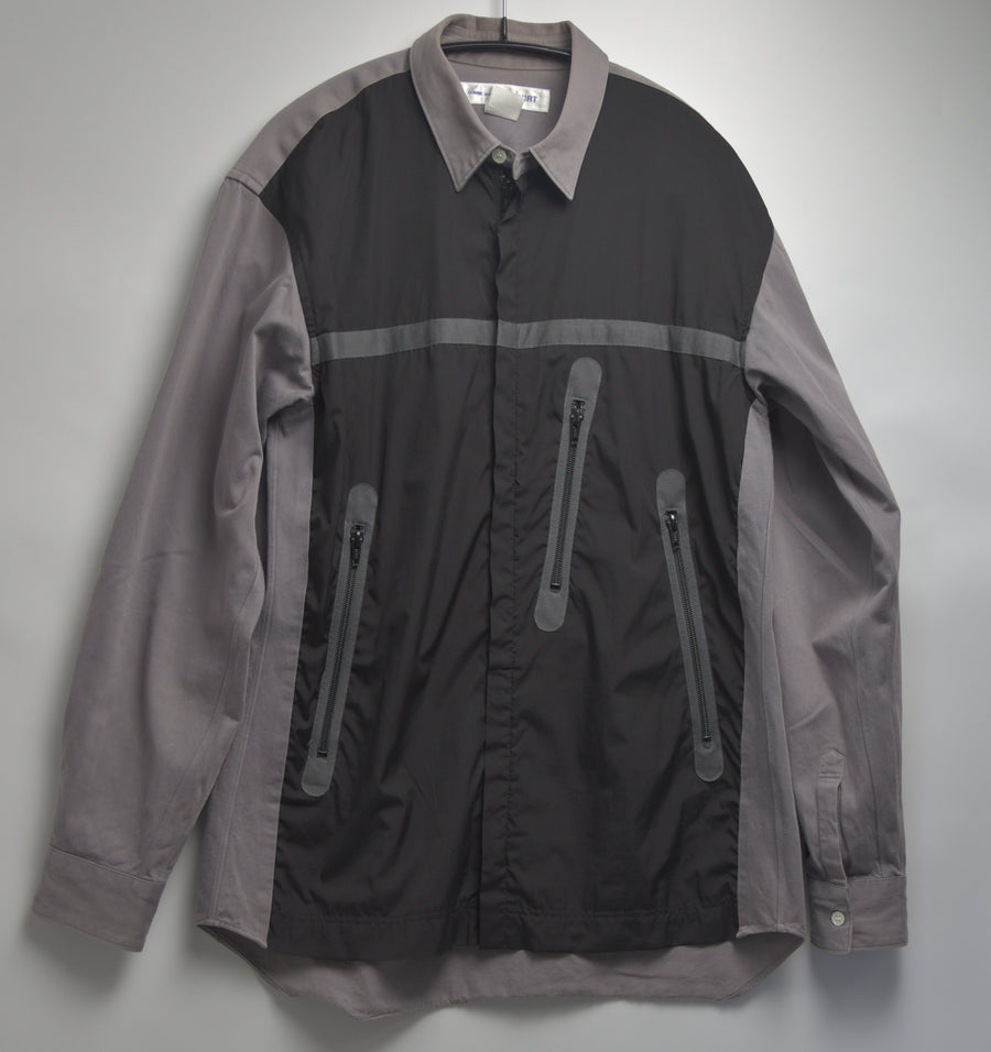 COMME des GARCONS SHIRT / Sporty Zipper Shirt