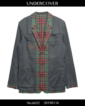 UNDERCOVER / Cutoff reversible jacket