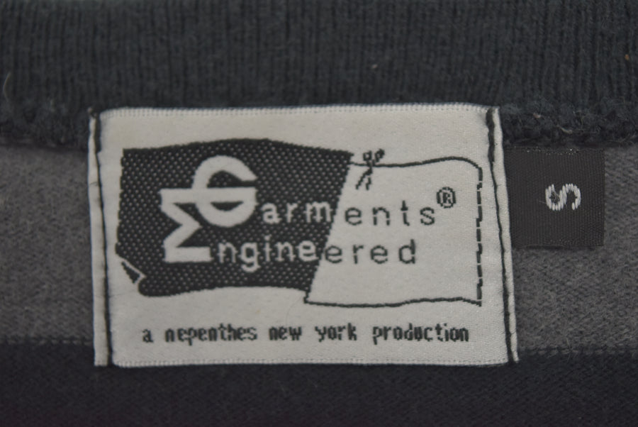 enginnerd garments / Border Long Sleeve Cutsew