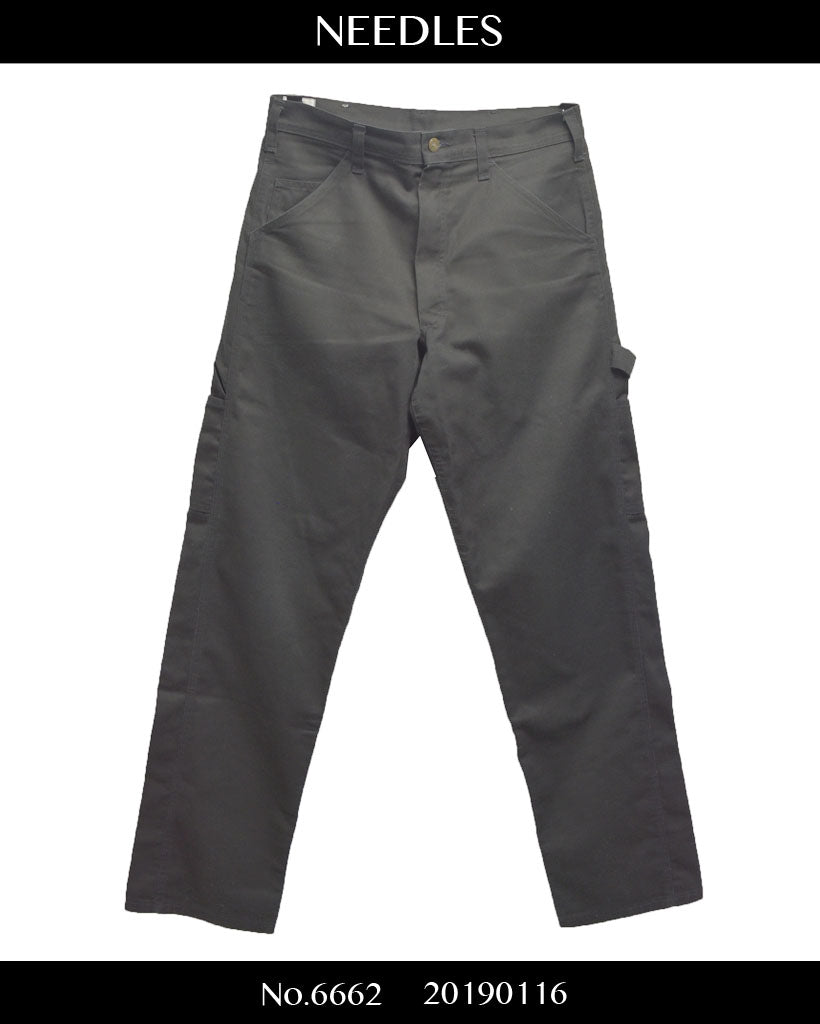 NEEDLES / Black painter pants