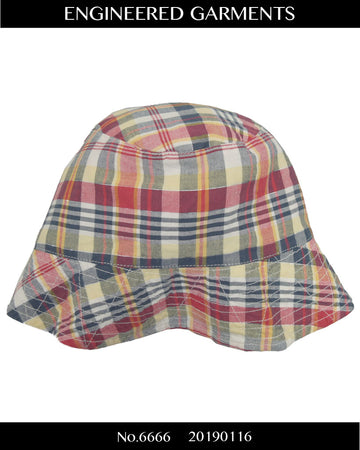 enginnerd garments / Check bucket hat