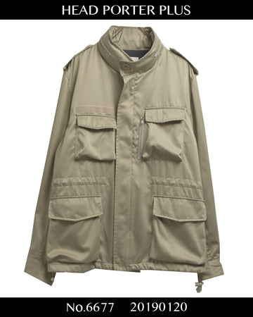 Head Porter Plus / Tanker Material Military Jacket