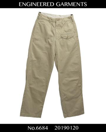 enginnerd garments / Chino Pocket Pants