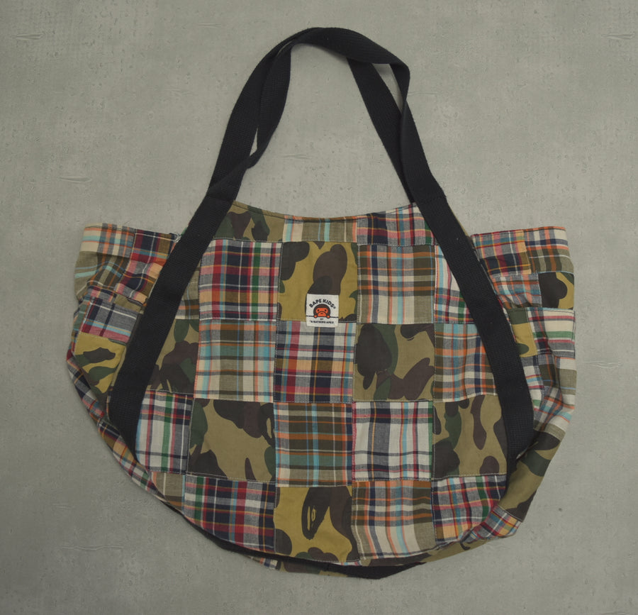 BAPE / Patchwork Tote Bag