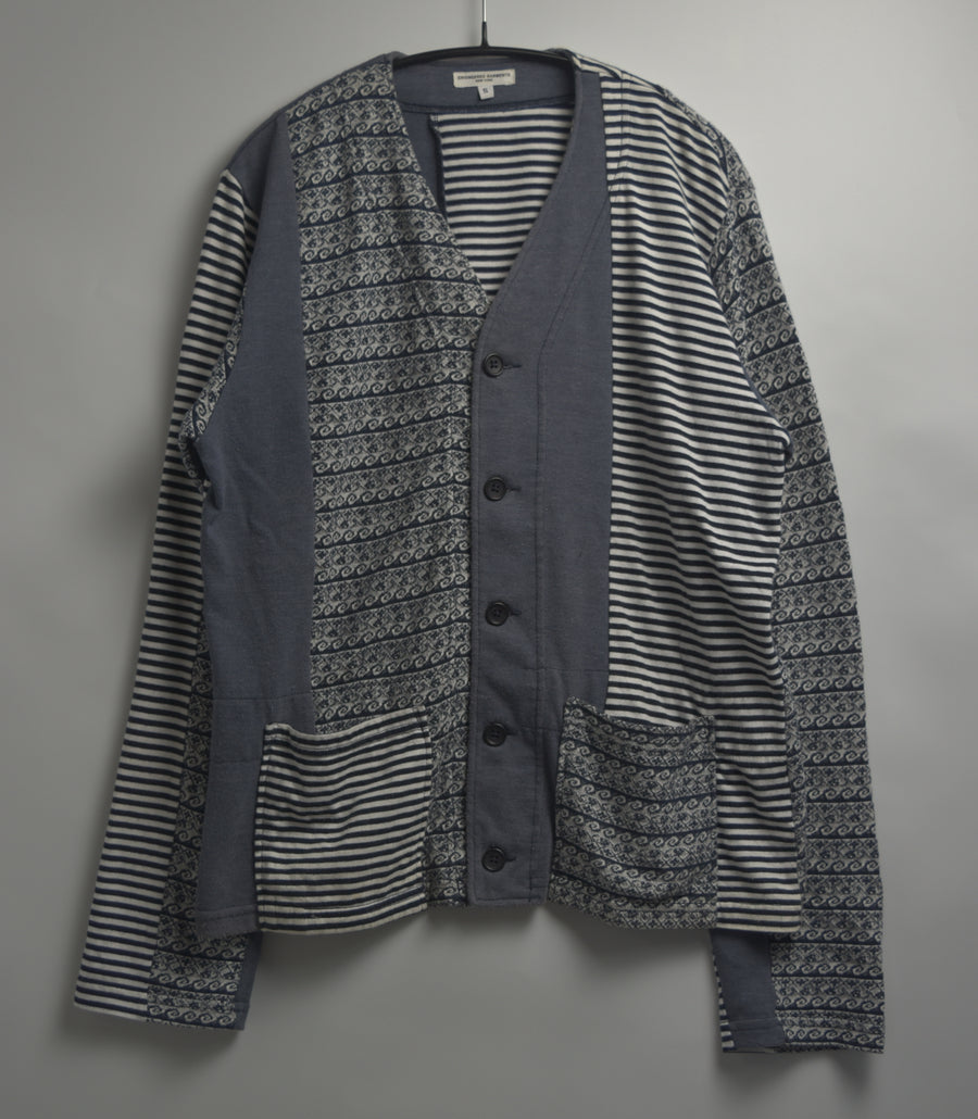 enginnerd garments / Cotton Cutsew Random cardigan