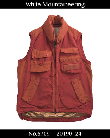 WHITE MOUNTAINEERING / Multi Function Outdoor Fishing Vest