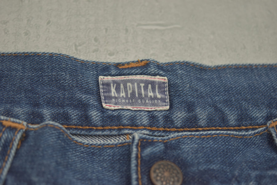 KAPITAL / Denim Bush Pants