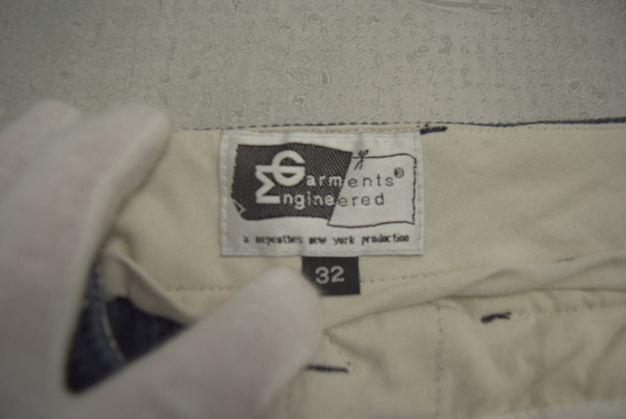 enginnerd garments / Corduroy cropped pants