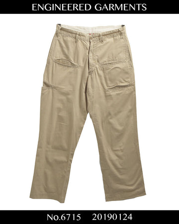 enginnerd garments / Pocket Chino Pants