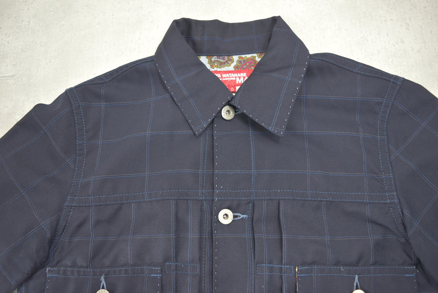 JUNYA WATANABE MAN COMME des GARCONS / × Levi's Check Denim Jacket