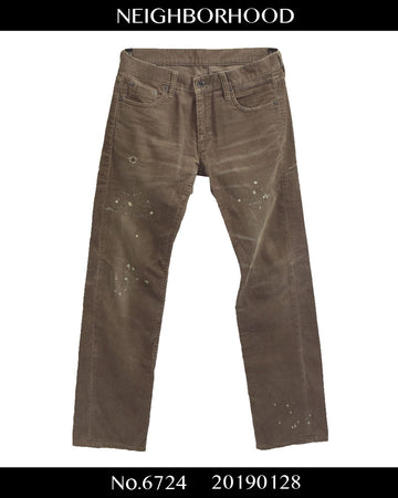 NEIGHBORHOOD / Damaged Corduroy Pants