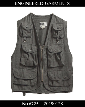enginnerd garments / Wool hunting vest