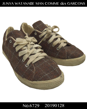 JUNYA WATANABE MAN COMME des GARCONS / Check Low-cut sneaker