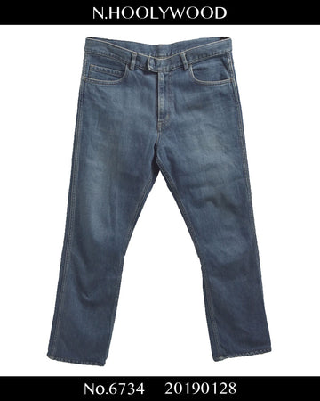 N.hoolywood / Denim slack pants