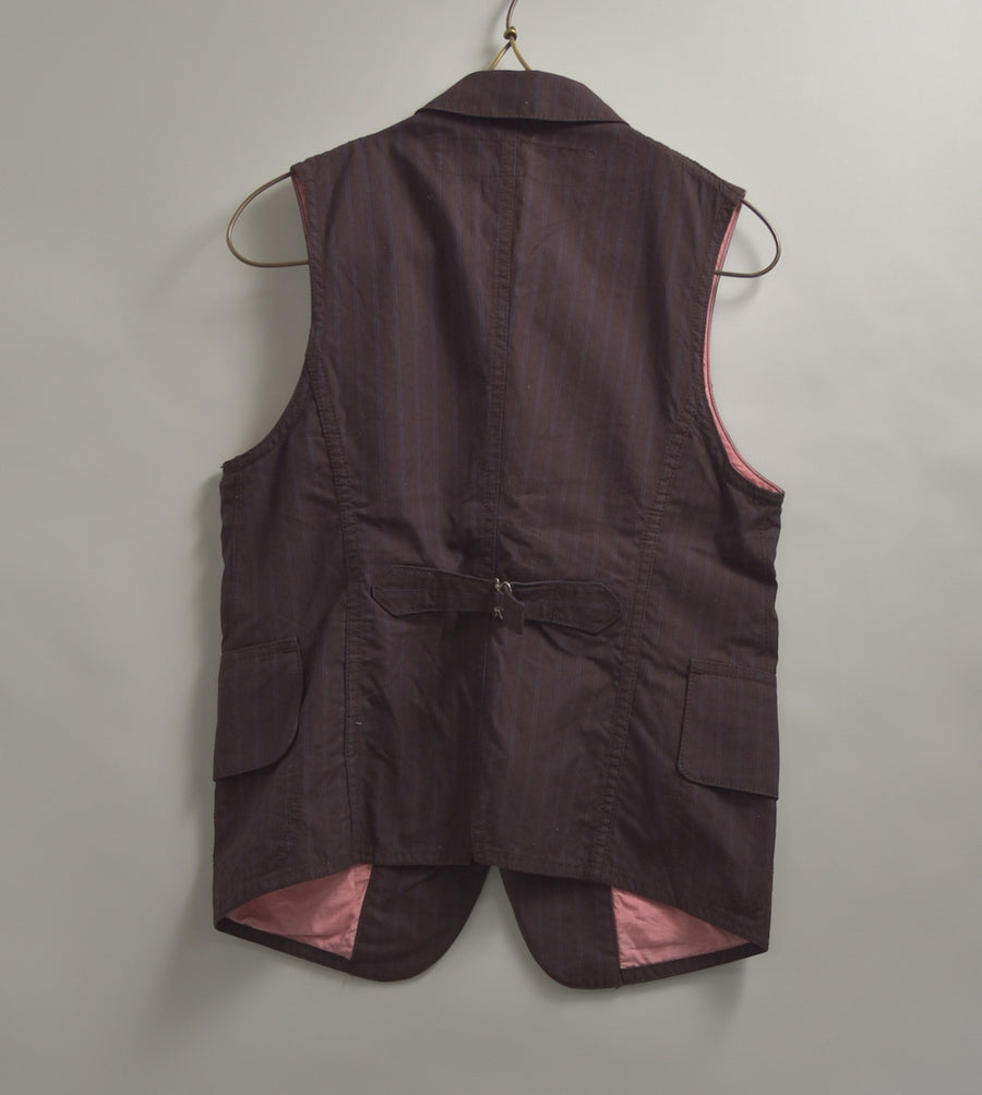 JUNYA WATANABE MAN COMME des GARCONS/ Striped tailored jacket vest