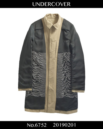UNDERCOVER / JOY DIVISION stain color coat