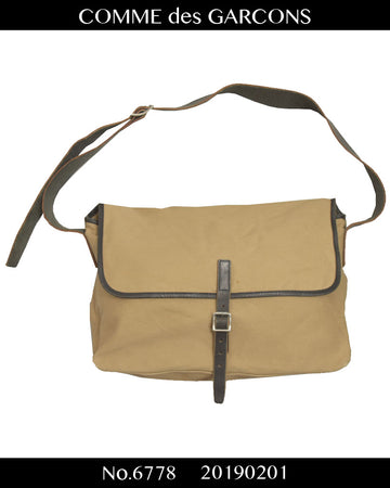 COMME des GARCONS HOMME / Canvas shoulder bag