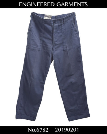 enginnerd garments / Cotton Baker Pants
