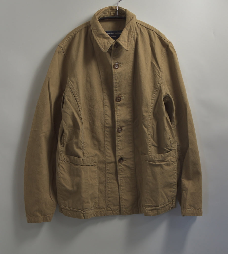 COMME des GARCONS HOMME / Beigh Work Coverall Jacket