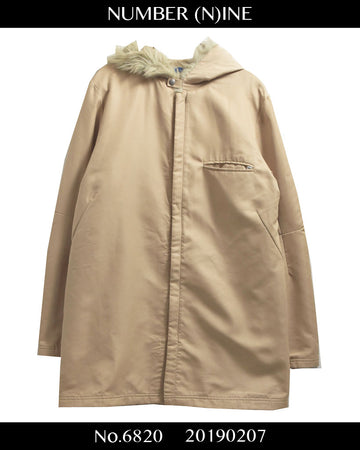 NUMBER(N)INE / Hooded Jacket Coat